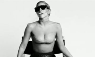 Lady Gaga smokes and gets slippery in new You And I 'fashion film'