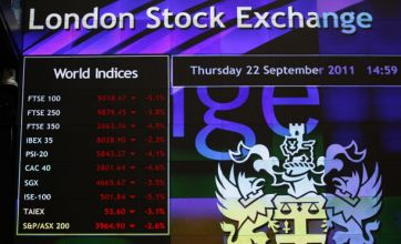 £64million wiped off FTSE 100 as fears of double-dip recession grow