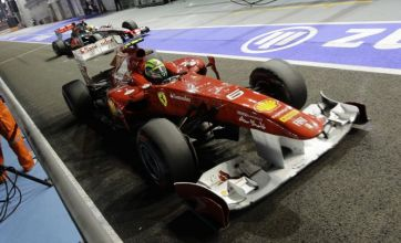 Felipe Massa flies into rage with 'Superman' Lewis Hamilton