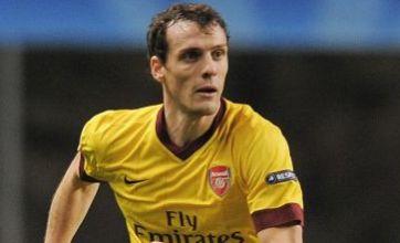 Sebastien Squillaci set for awkward Arsenal training return after summer transfer snubs