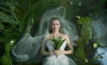 Kirsten Dunst shows there's a sombre side to Mary Jane in Melancholia