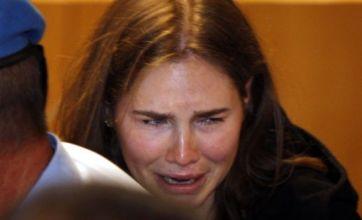 Amanda Knox's tears of joy as she is cleared of Meredith Kercher murder