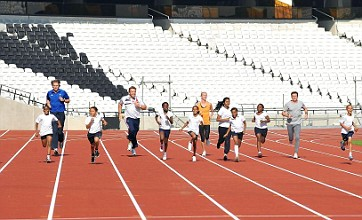 Olympics running track put to the test by Lord Sebastian Coe