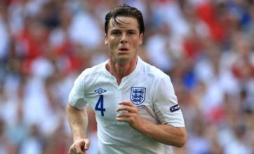 Scott Parker loves being the old new-boy of the England team