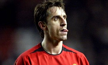 Gary Neville gets 'done' by Dynamo's magic