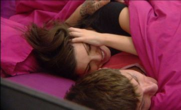 Big Brother's Alex gives Louise and Jay approval after under-duvet kiss