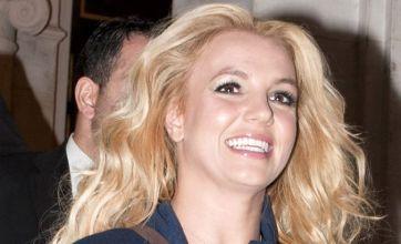 Britney Spears is glamorous in Paris as Everyday track is leaked online
