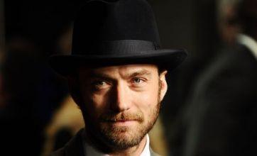Jude Law goes for Sherlock look as 360 kicks off London Film Festival
