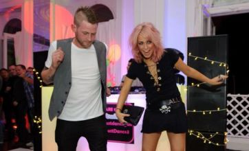 X Factor's Amelia Lily dances away her troubles with Jonjo Kerr