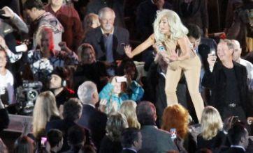 Lady Gaga serenades Bill Clinton in Marilyn Monroe moment