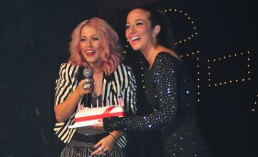 Tulisa surprises X Factor rejects Amelia Lily and 2 Shoes at G-A-Y