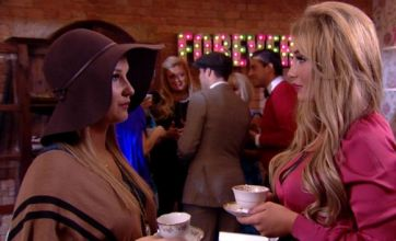 TOWIE's Lauren Goodger confronts Sam Faiers over Mark Wright dates