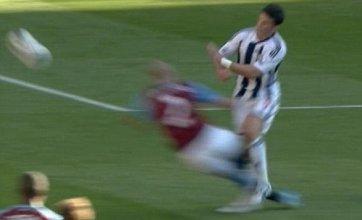 Roy Hodgson fumes at Alan Hutton horror tackle on Shane Long