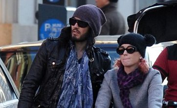 Katy Perry and Russell Brand celebrate anniversary in New York
