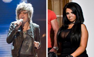 X Factor: Frankie Cocozza's wild night with Geordie Shore's Holly Hagan