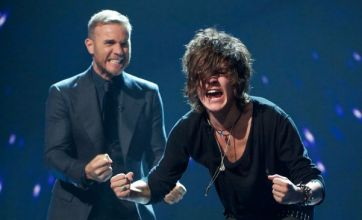 X Factor apologises after Frankie Cocozza tells Gary to 'f******* have it'