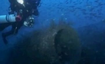 Divers find sunken plane wreck off Portuguese coast 34 years after crash