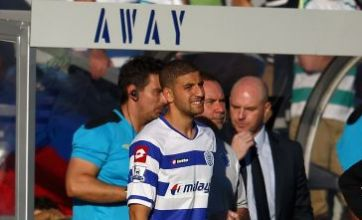 Adel Taarabt rekindles prospect of QPR January exit with Napoli remarks