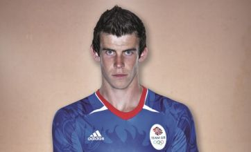 Gareth Bale models Team GB Olympic shirt, risking wrath of Welsh fans