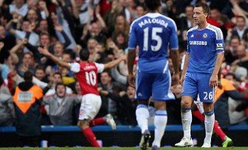 John Terry slip gifts Arsenal 5-3 win at Chelsea as Van Persie grabs hat-trick