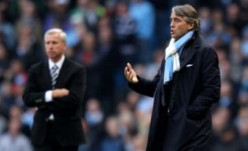 Manchester City cannot go season unbeaten, says Roberto Mancini