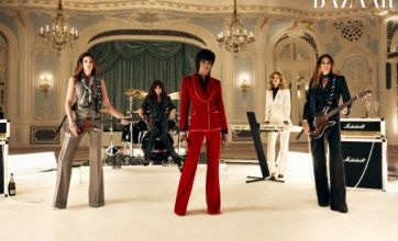 Naomi Campbell and supermodel pals stand in for Duran Duran in new video