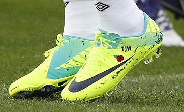Theo Walcott and Ashley Cole 'will don poppy boots for England match'