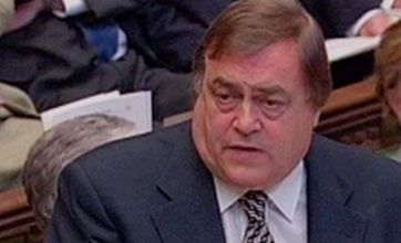 John Prescott 'signs up for Strictly Come Dancing Christmas special'