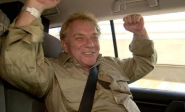 Freddie Starr forced to leave I'm A Celebrity jungle on medical advice