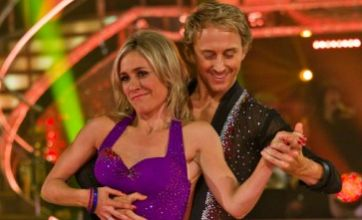 BBC newsreader Sophie Raworth does Strictly Come Dancing