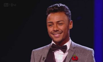 Marcus Collins gets X Factor advice from JLS and Rebecca Ferguson