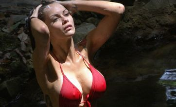 Emily Scott and Jessica Jane Clement shock with sexy I'm a Celeb showers