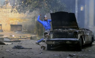 Tear gas used against protesters as Egyptians threaten 'second revolution'