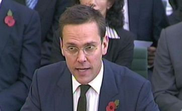 James Murdoch resigns as director of The Sun and The Times publisher