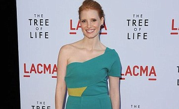 Jessica Chastain: Kissing Brad Pitt is everything I imagined it would be