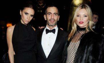 Victoria Beckham snubbed by Kate Moss at British Fashion Awards