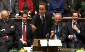 David Cameron receives poll boost with Conservatives six points ahead