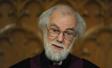 Archbishop of Canterbury questions place of society