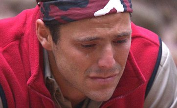 I'm A Celeb's Mark Wright and Dougie Poynter in tears over family letters