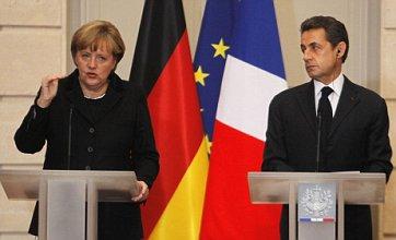 Angela Merkel and Nicolas Sarkozy call for new European Union
