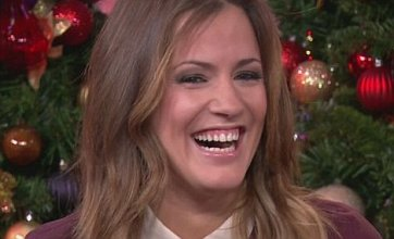 Caroline Flack reveals she and Harry Styles 'have a lot of fun together'