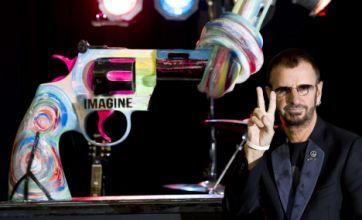 Ringo Starr urges stricter gun crime sentencing as Lennon remembered