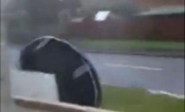 OMG trampoline! Is Scotland storm video the new Fenton?