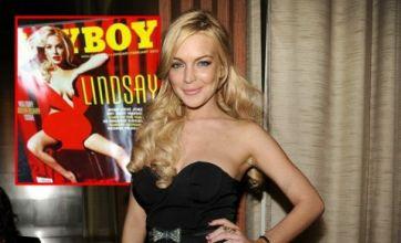 Lindsay Lohan nude Marilyn Monroe Playboy spread leaked online