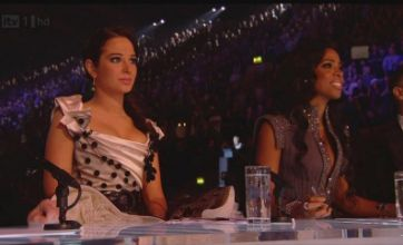 X Factor's Tulisa and Kelly Rowland in furious bust-up over Amelia Lily
