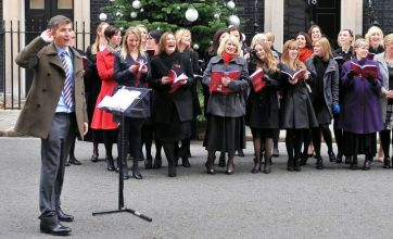 Gareth Malone's Military Wives choir vow to take Christmas No 1 spot