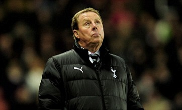 Harry Redknapp not considering England job, insists Spurs chief
