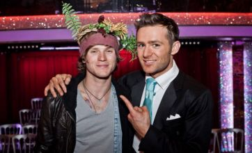 Strictly Come Dancing's Harry Judd visited by McFly mate Dougie Poynter