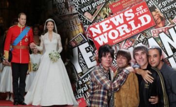 Royal wedding, phone hacking and The Stone Roses: Rock the Year