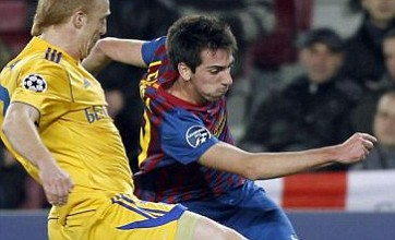 Isaac Cuenca's contract stand-off with Barcelona alerts Arsenal and United